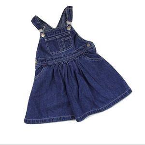 Gap Denim Overall Dress, 18-24 Months